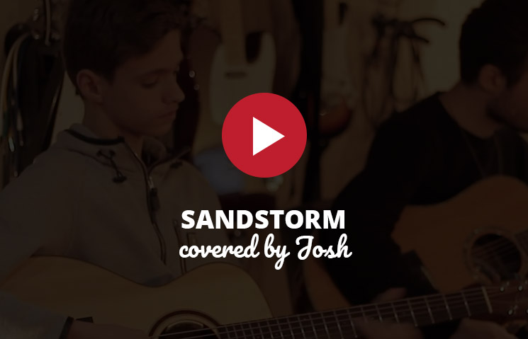 Sandstorm - by student Josh Brough & Tutor Sean
